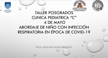 """Taller posgrados Clínica pediátrica """"C"""""""